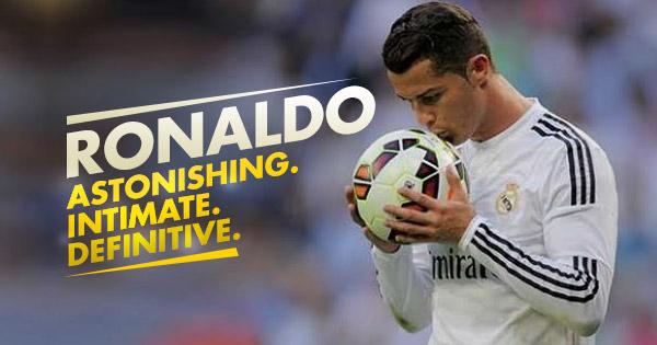 Ronaldo world film premiere