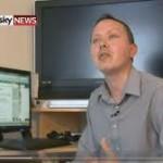 Mark Boardman showbiz feature on SKY NEWS