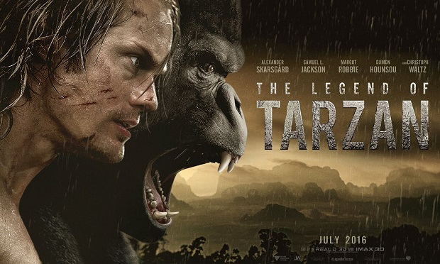 The Legend Of Tarzan film premiere