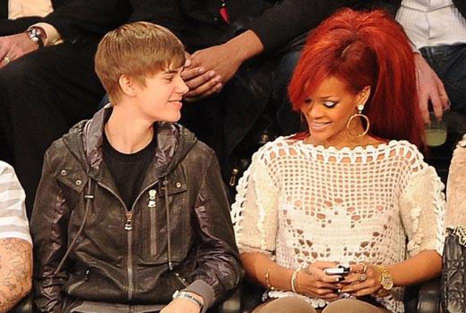 Rihanna And Bieber