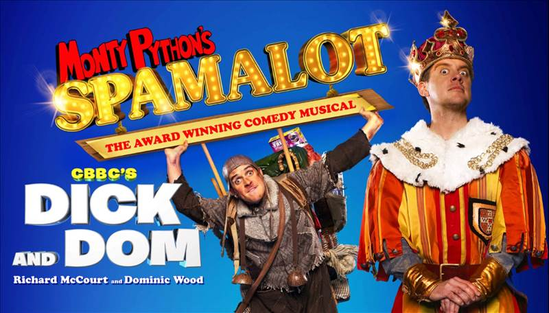 Spamalot tickets at Playhouse theatre