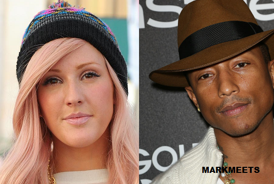 Pharrell Williams is back at No. 1 with 'Happy' in UK singles chart whilst Ellie Goulding's 'Halcyon' remains at No. 1 in UK albums chart