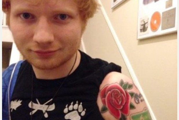 Ed Sheeran is getting a tattoo sleeve inspired by his upcoming album. | MarkMeets Fashion News |