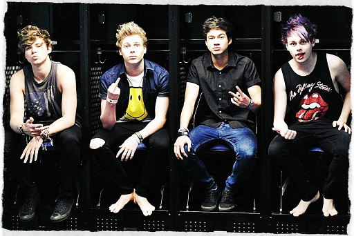 5 Seconds Of Summer debut at No. 1 on UK singles chart | MarkMeets Music News |