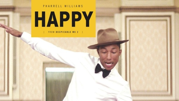 Pharrell Williams makes chart history as 'Happy' returns to No. 1 | MarkMeets chart News |