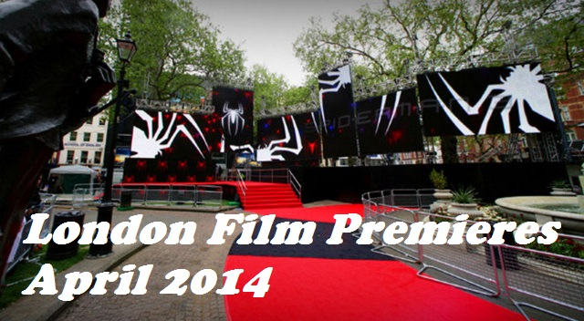 April London Film Premieres