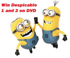 Win Despicable 1 & 2