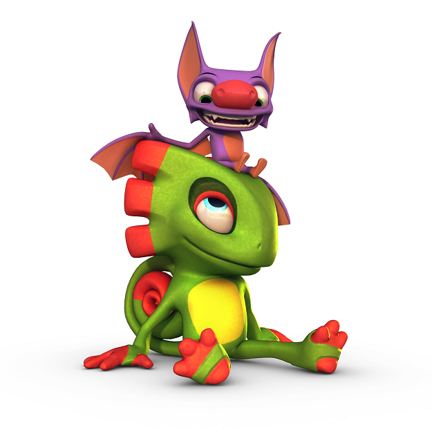 Yooka-Laylee is a kickstarter game by Playtonic Games