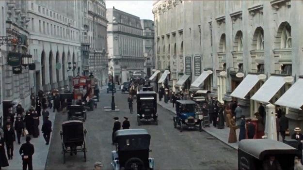 Suffragette set in London