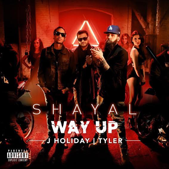 Shayal 'Way Up' single artwork