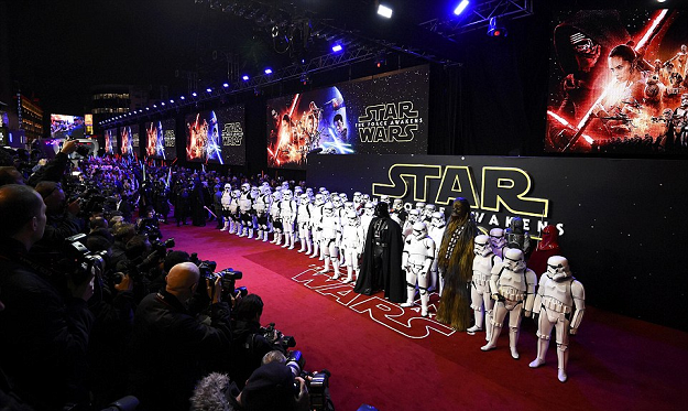 london film premiere star wars the force awakens