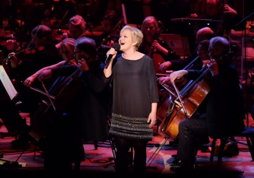 Maria Friedman performs with the BBC Concert Orchestra, conducted by Keith Lockhart, as part of The Oliviers in Concert at the Royal Festival Hall.