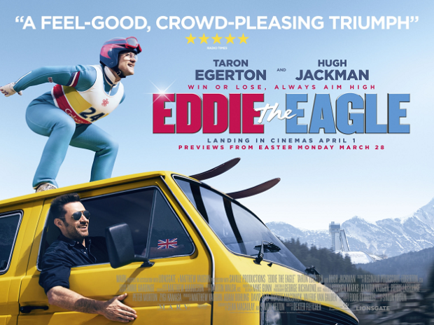 Eddie the Eagle movie poster official
