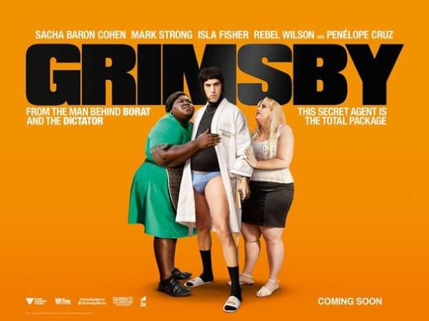 Grimsby movie poster - MarkMeets
