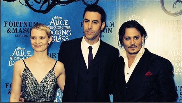 Alice Through The Looking Glass london premiere