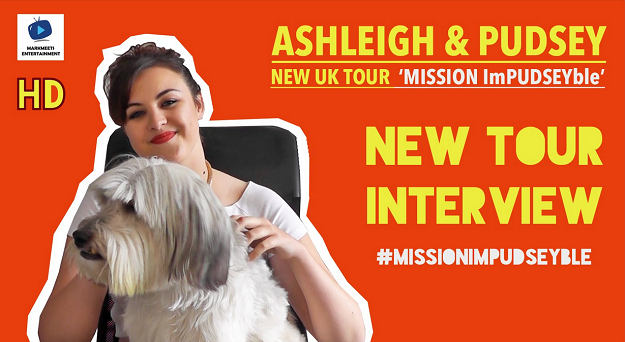 Ashleigh & Pudsey Interview with MarkMeets