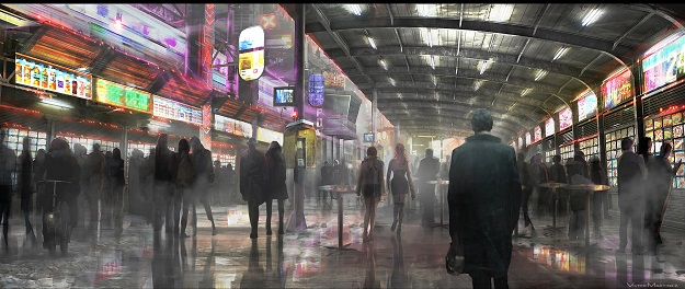Concept art from the Untitled Blade Runner Sequel.