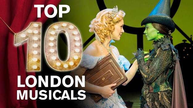 10 top west end shows