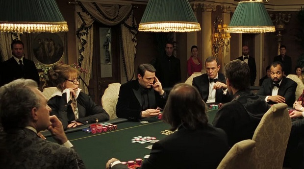 casino royale poker scene