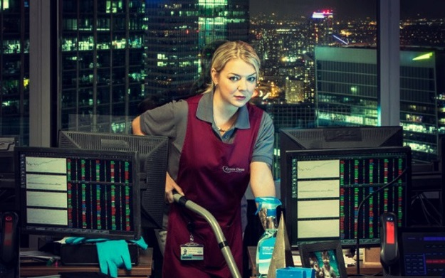 Cleaning Up TV Sheridan Smith
